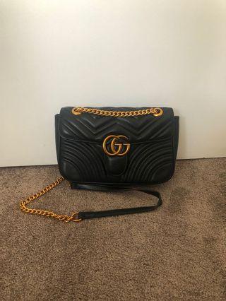 Gucci Marmont Bag Black Replica