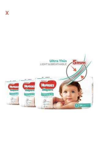 Huggies Platinum Diapers size L