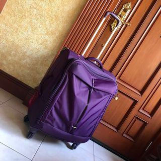 DELSEY AUTHENTIC XL SIZE LUGGAGE BAG - Used Only Twice - Price Still Negotiable (similar: Samsonite Lacoste)