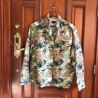 TOPSHOP AUTHENTIC Military Jacket / Coat BRAND NEW NEVER USED - NEGOTIABLE