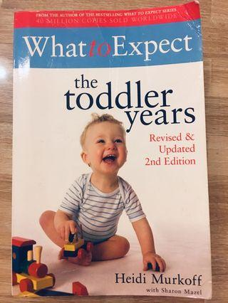 Book - The Toddle Years