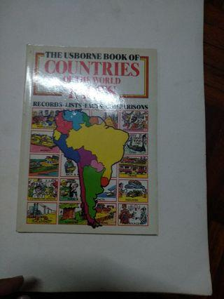 The Usborne Book of Countries of the World Facts #EST50