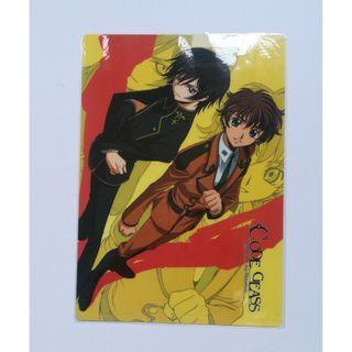 Code Geass: Lelouch of the Rebellion - Lelouch Lamperouge & Kururugi Suzaku - Shitajiki / Pencil Board / Underlay  Board
