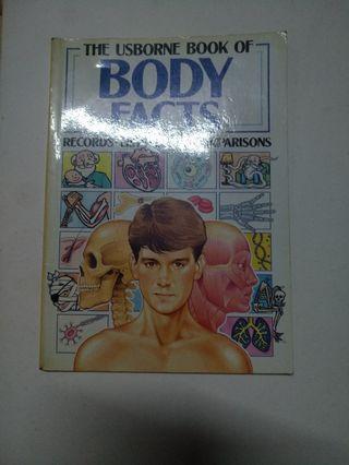 The Usborne Book of Body Facts #EST50