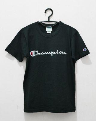 Champion Heritage Script Logo Tee Bordir