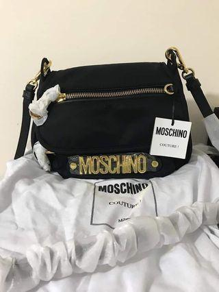 Moschino Nylon crossbody bag全新正貨