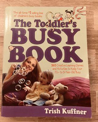 Book - The Toddler's Busy Book