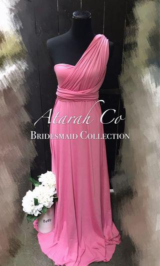Bridesmaid Convertible Multiway Infinity dress