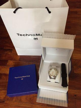 Brand New Technomarie Cruise 40mm Pearl Face Limited Edition