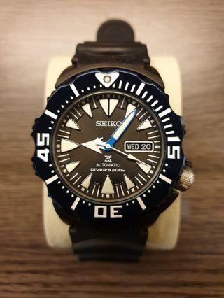 "Seiko SRP581K1 ""Sea Monster"""