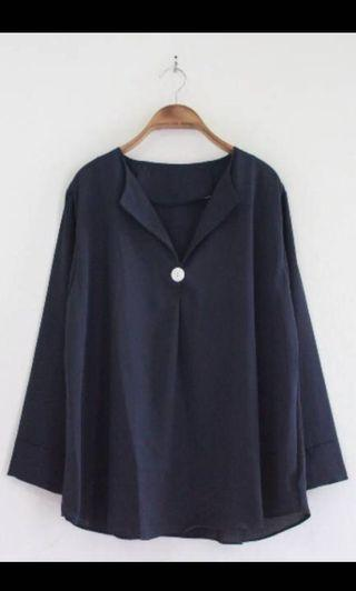 Blouse jumbo - Navy