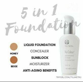 Nu Skin Tinted Moisturiser Code Honey