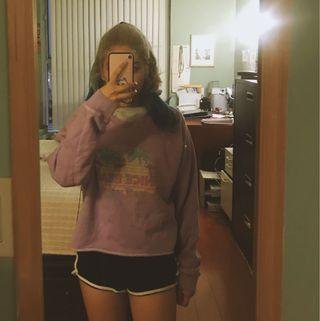 Purple Comfy Sweater