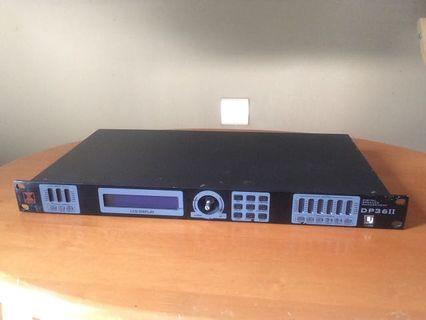 DP36II Digital Speaker Management System