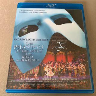 Blu Ray The Phantom of the Opera