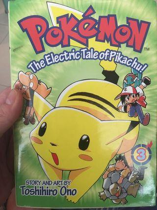 Pokemon comic book 3 and 4