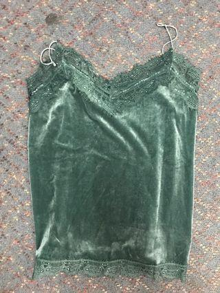 Temt green top size 12