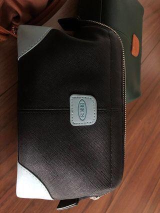 Brics pouch (Qatar airways biz class accessories) x 3