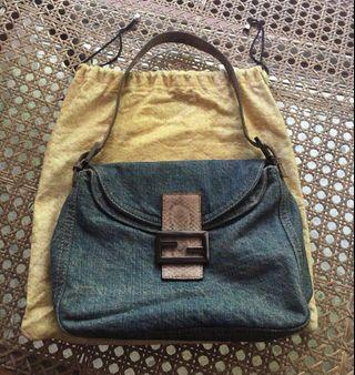 💝Fendi Denim Bag