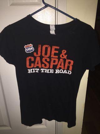 Joe and Caspar Tour Shirt