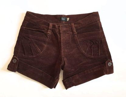 Brown colored shorts