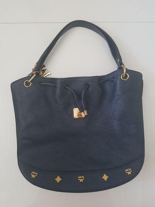 🚚 MCM Navy Blue Bag