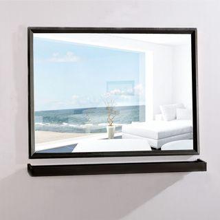 mirror +shelf Stainless steel