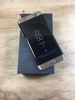 Samsung S7 edge Dual ex sein fullset minus murah