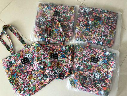 Tokidoki x Changi Mother and Daughter bag (2 bags)