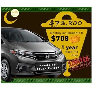 Brand New Honda Fit 1.3A Petrol