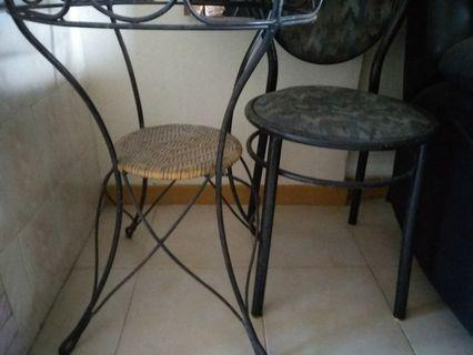 Small Table and Chair
