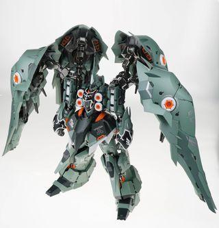 【Ready Stock】 Steel Legend 1/100 NZ-666 Kshatriya Gundam Metal Build Chogokin