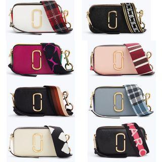 (Good Friday Sales) Authentic Marc Jacobs Snapshot Camera Sling Crossbody Bag