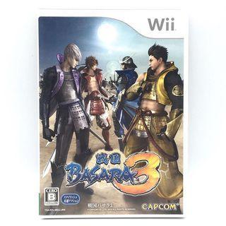 (中古) 原裝日版 Wii Game 戰國無雙 BASARA 3 動作殺敵遊戲 支援雙人同樂