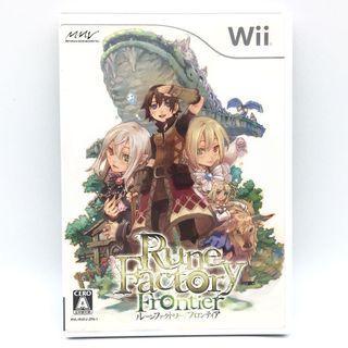 (中古) 原裝日版 Wii Game Rune Factory Frontier 符文工廠 奇幻生活遊戲