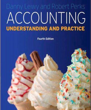HARDCOPY version SIM-UOL must have accounting textbook Danny Leiwy and Robert Perks