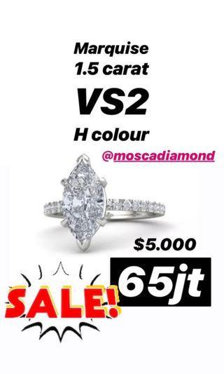 Ring Real Diamond/ Cincin Berlian Asli