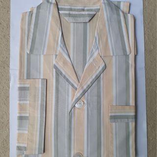BN Men's Pajamas Set, Long Sleeve w/pocket