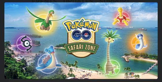 🚚 POKEMON GO SAFARI ZONE EVENT