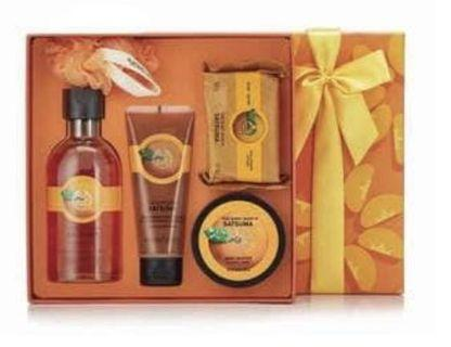 Brand New 5 pc Body Shop Gift Set