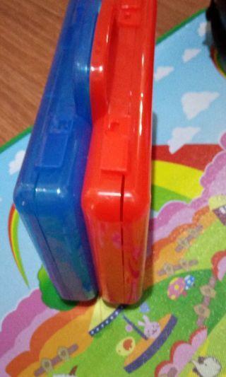 Box carry case hotwheels