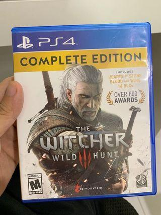 🚚 The Witcher 3 PS4 complete edition