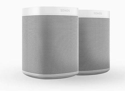 Sonos One (2 room set or as Stereo Pair)
