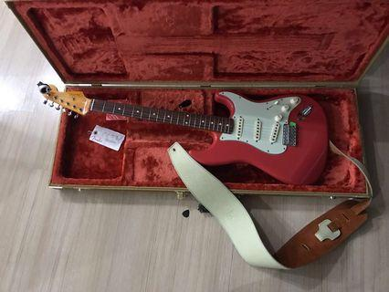 2018 Fiesta Red Fender Stratocaster Classic Series 60s Lacquer