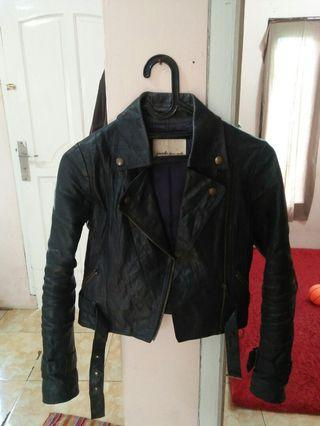 Jaket Kulit 100% kulit asli
