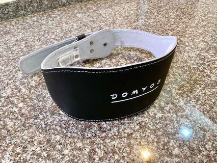 Weight training lumbar belt