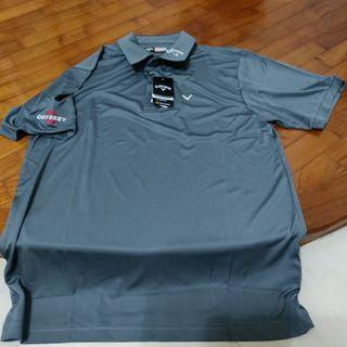 GOLF: CALLAWAY POLO TEE (BRAND NEW)