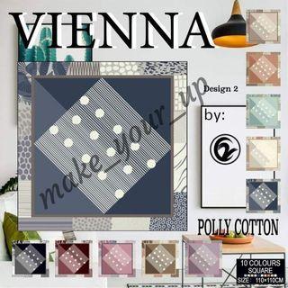 Kerudung Vienna luxury Print