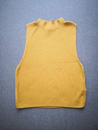 Topshop Knitted Crop Top #EST50
