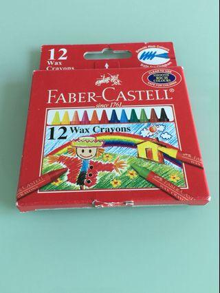Brand New Faber-Castell Wax Crayons